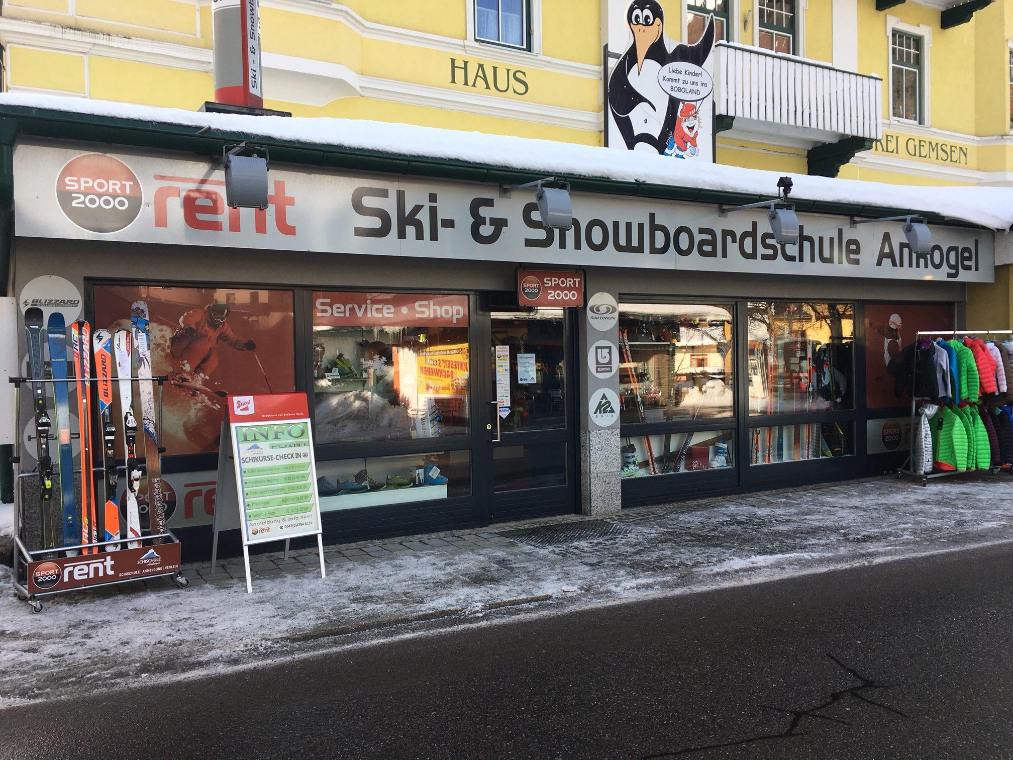 Schiverleih, Schiservice Mallnitz